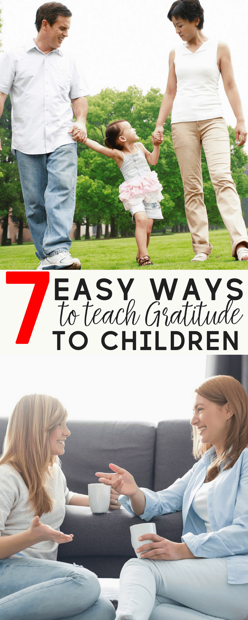 Are you trying to raise kids with character? Teach them gratitude. It's an attitude that is worth catching.