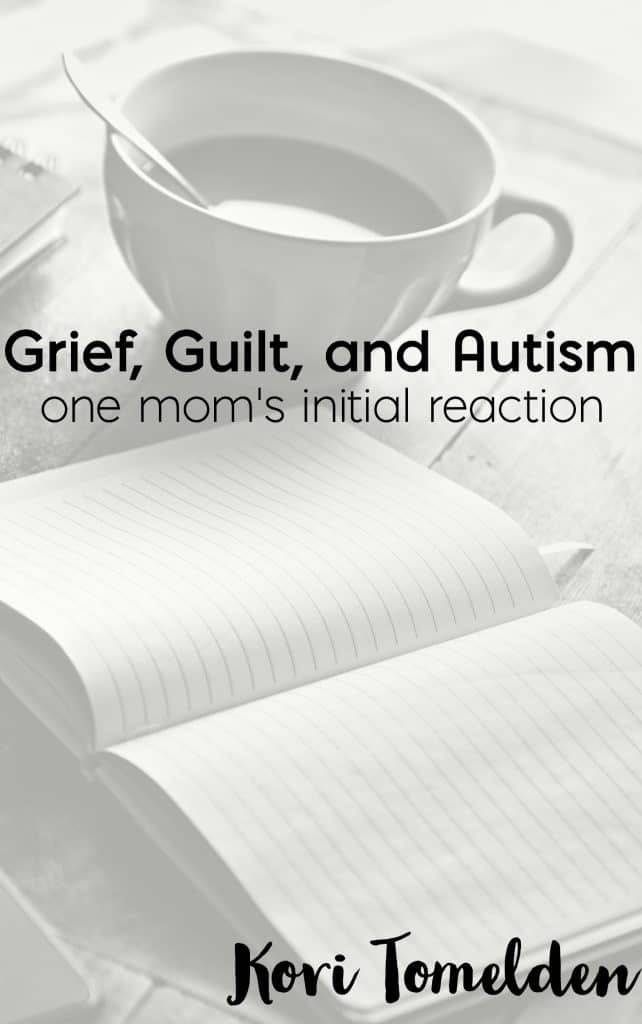 When it came to the initial autism diagnosis, I couldn't have been more unprepared. My reactions were overwhelming and I never would have expected for grief to be one of them.