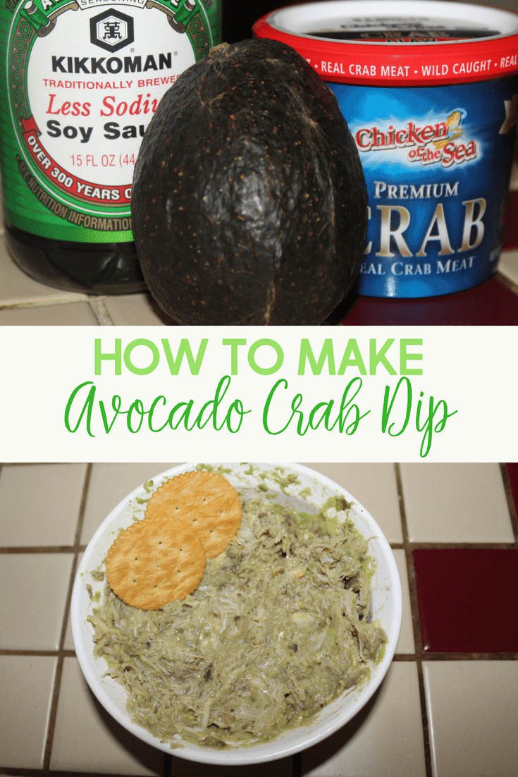 I absolutely love avocado crab dip! It's so easy to make and a crowd pleaser for sure.