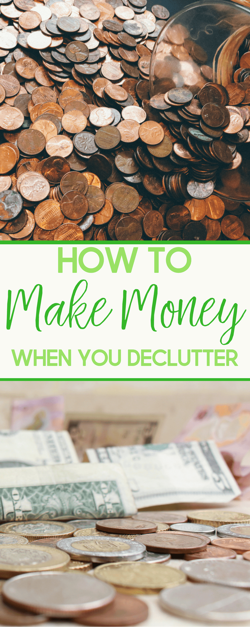 Decluttering can not only lead to a cleaner and more organized home, but it could also make you some extra money.