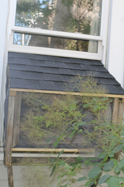 How to Make a Cat Window Box from Palettes