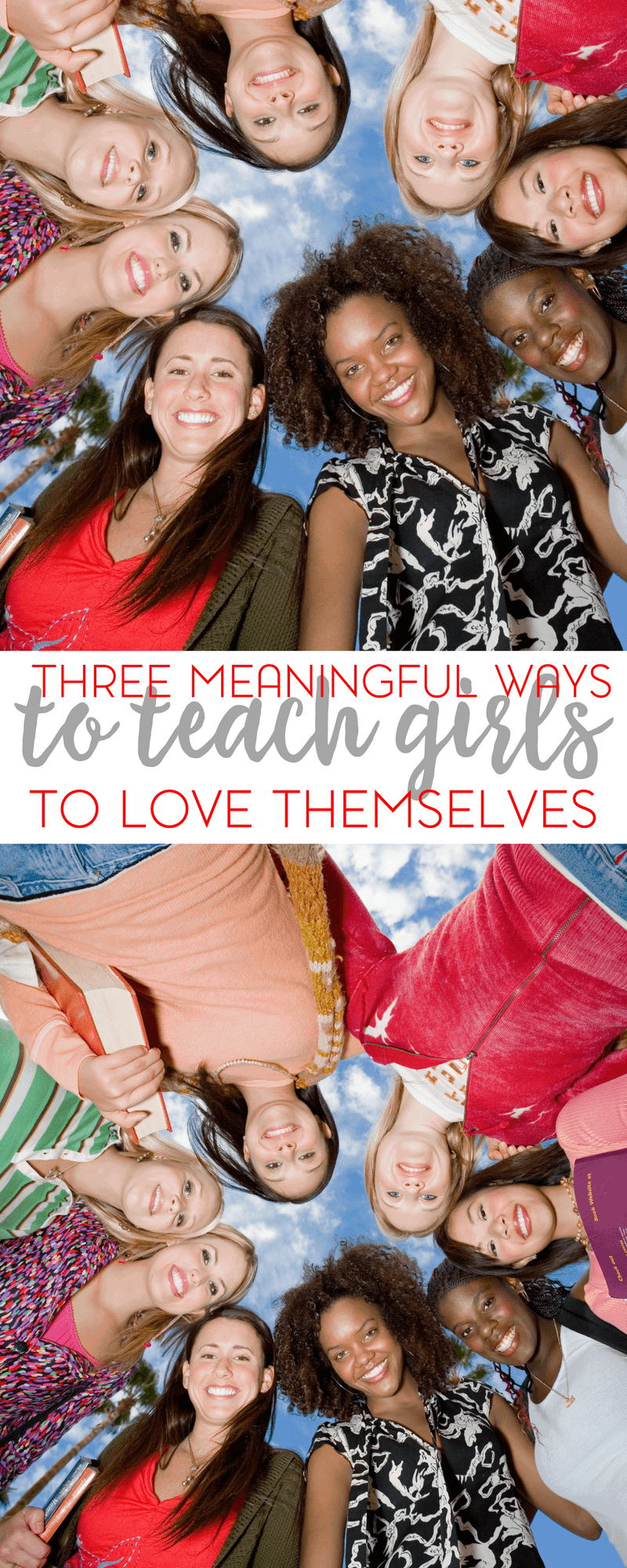If your daughter's self esteem is in the dumps or if you're just trying to prepare her for life; here are 3 meaningful ways to teach girls to love themselves.
