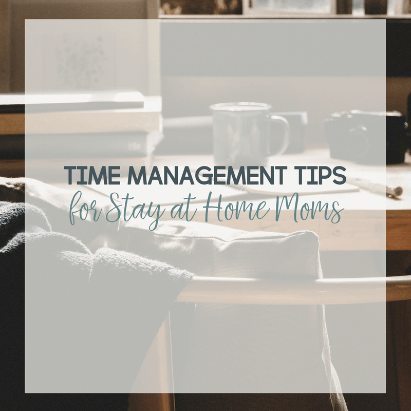 Could your time management skills use some help? Here are my best time management tips for stay at home moms and work from home moms.