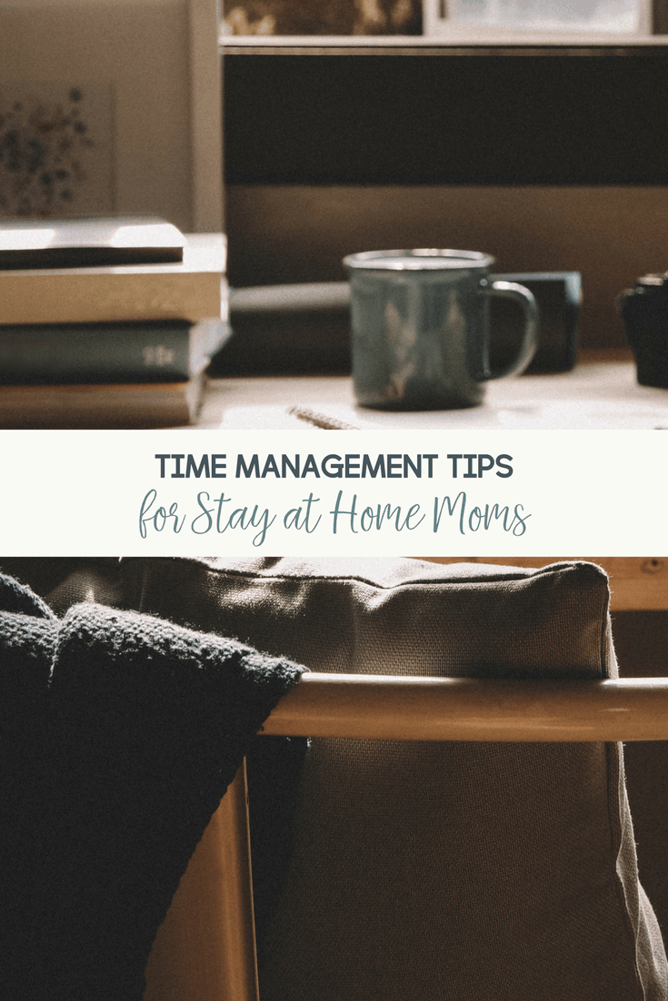 As a stay at home mom, it can be so easy to lose track of time. Here are my best time management tips for stay at home moms and work at home moms.