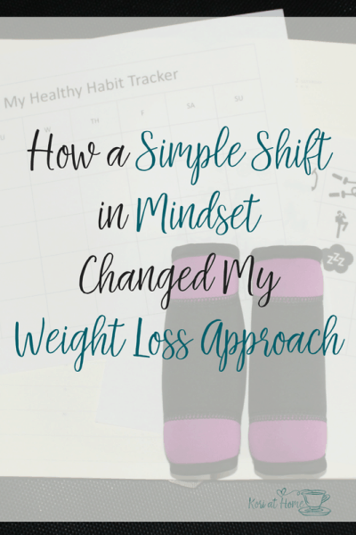 How a Simple Shift in Mindset Changed My Weight Loss Approach