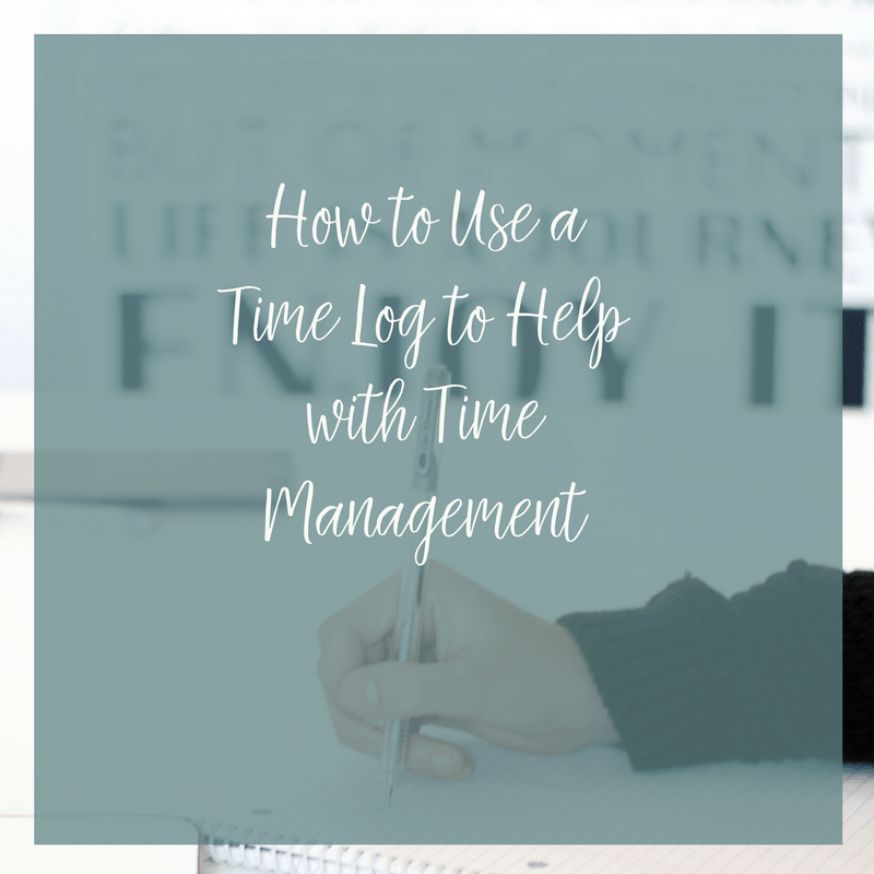 If your time management could use some work, check out these tips for how to use a time log to make the most of your time.