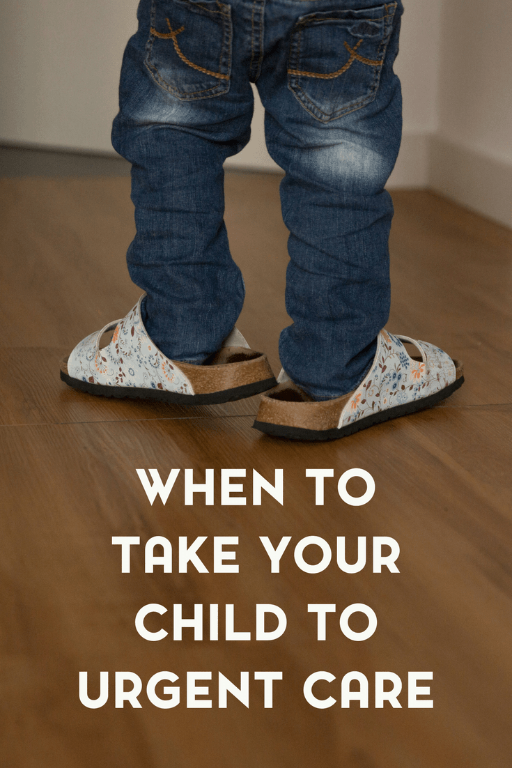 When to Take Your Child to Urgent Care 1