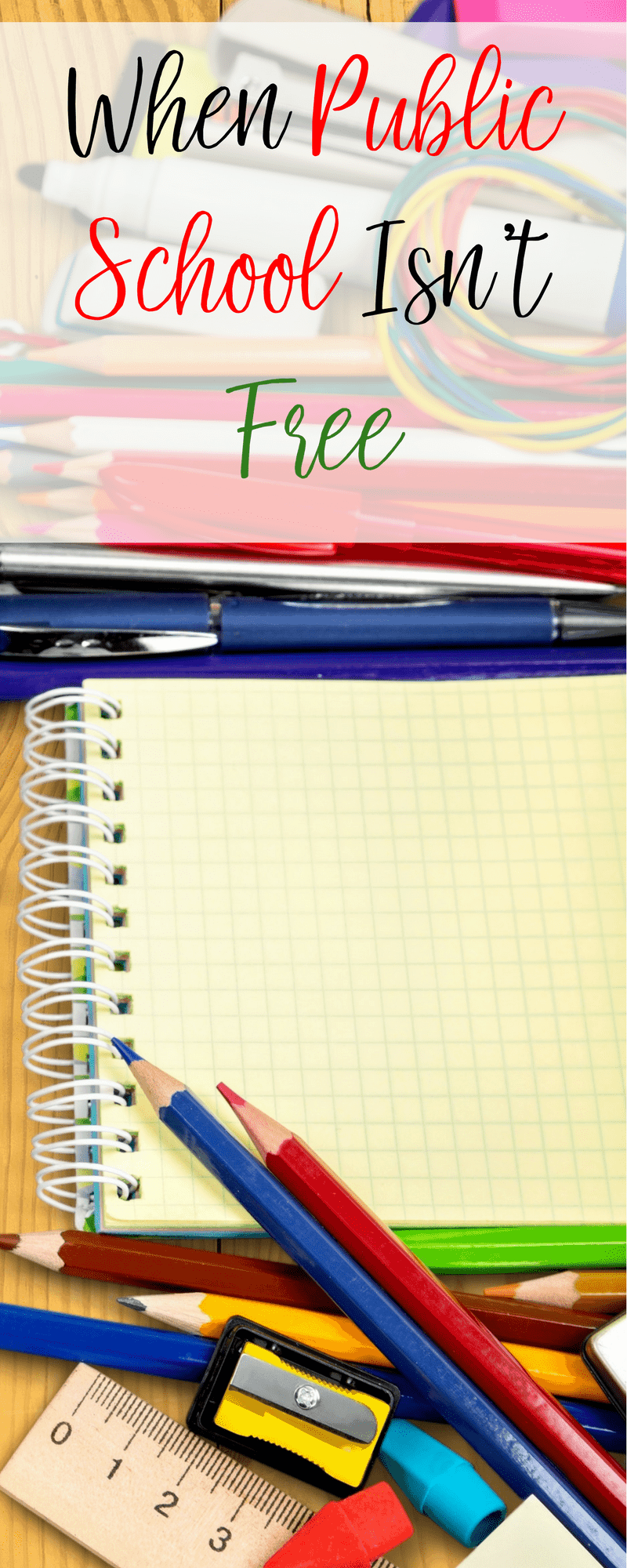 Public school can be surprisingly expensive if you aren't prepared. Here's how to budget for the unexpected expenses of public school.