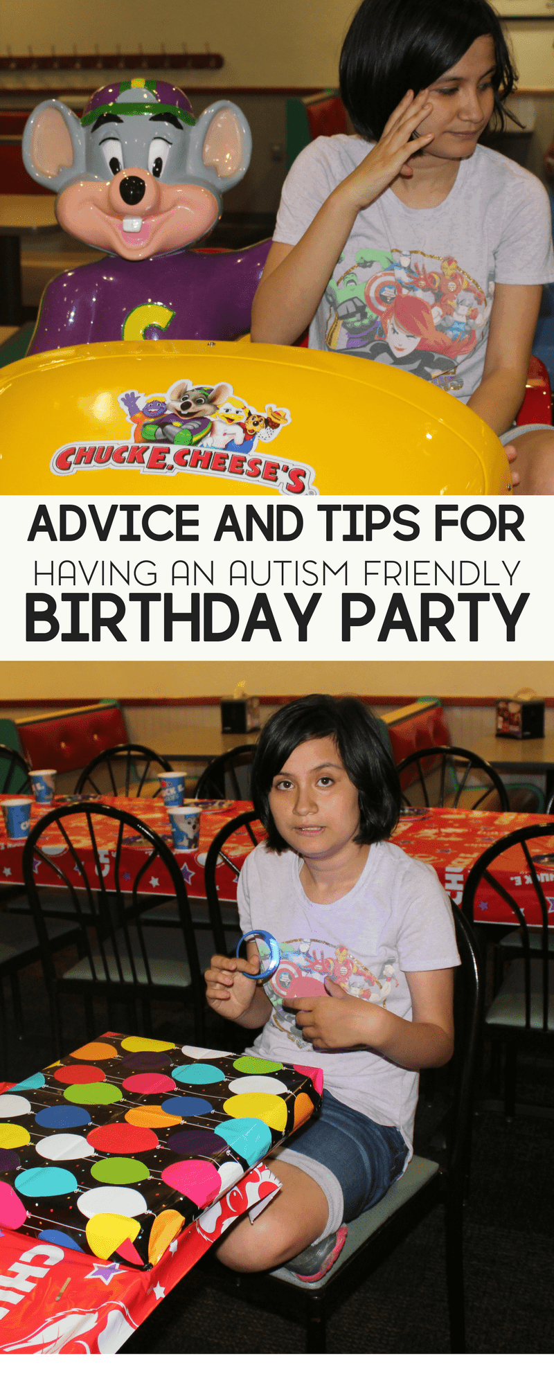 Advice and Tips for Planning an Autism Friendly Birthday Party