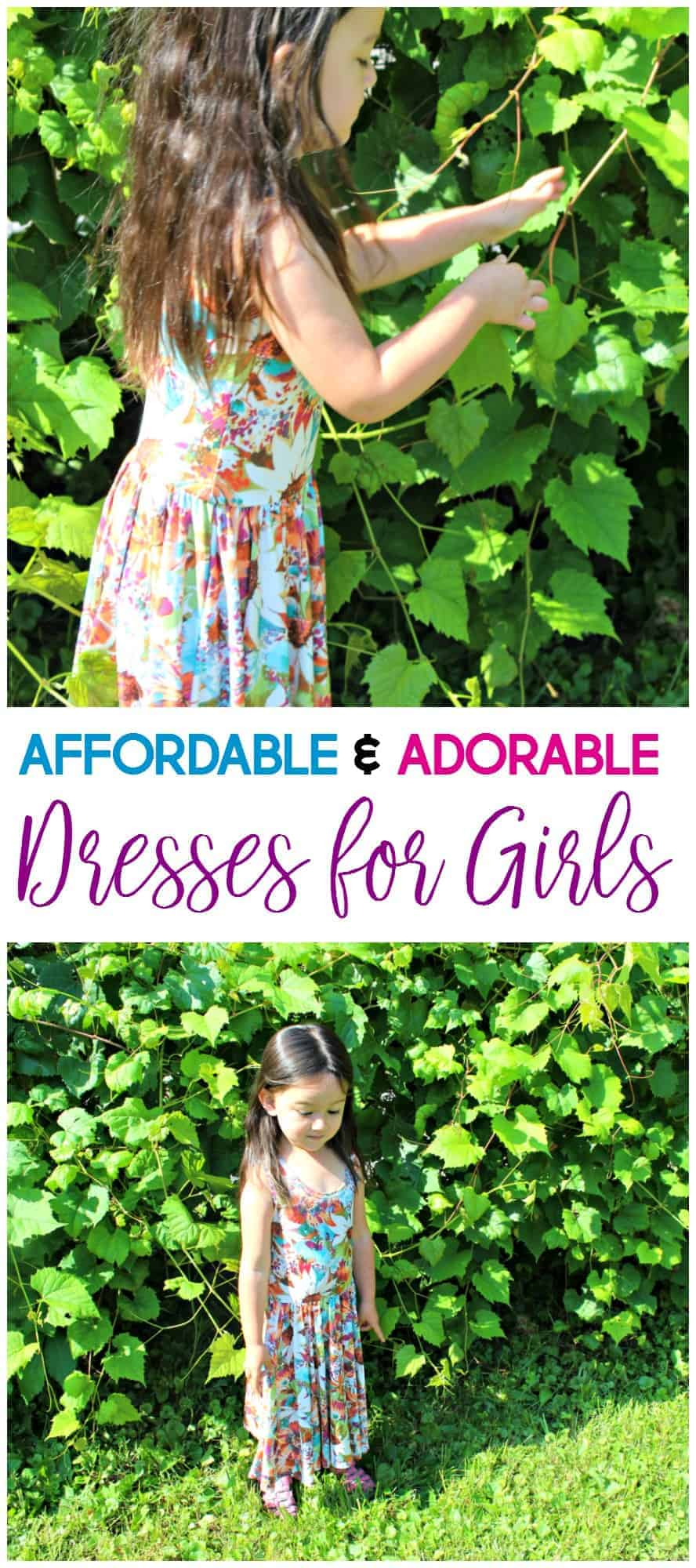 It would seem that I have a budding fashionista on my hands. Here's our new favorite place to get affordable and adorable dresses.