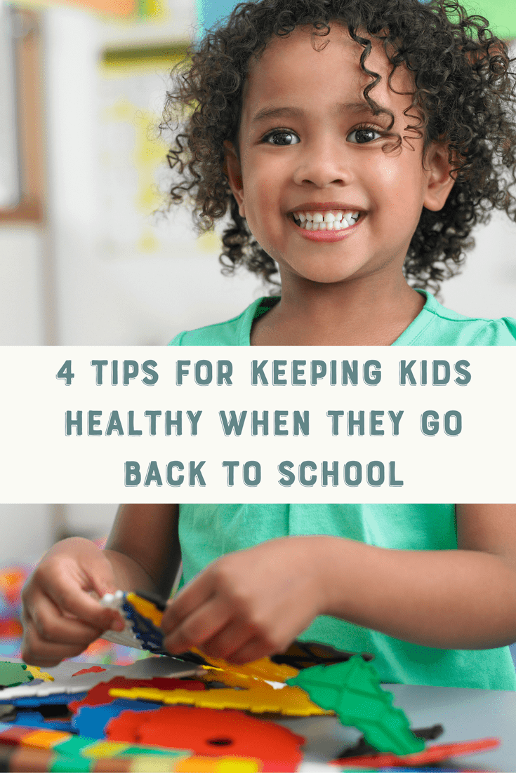 Send your kids back to school with confidence with these 4 tips for a healthy back to school.