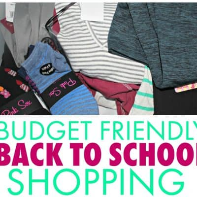 Budget Friendly Back to School Shopping Tips
