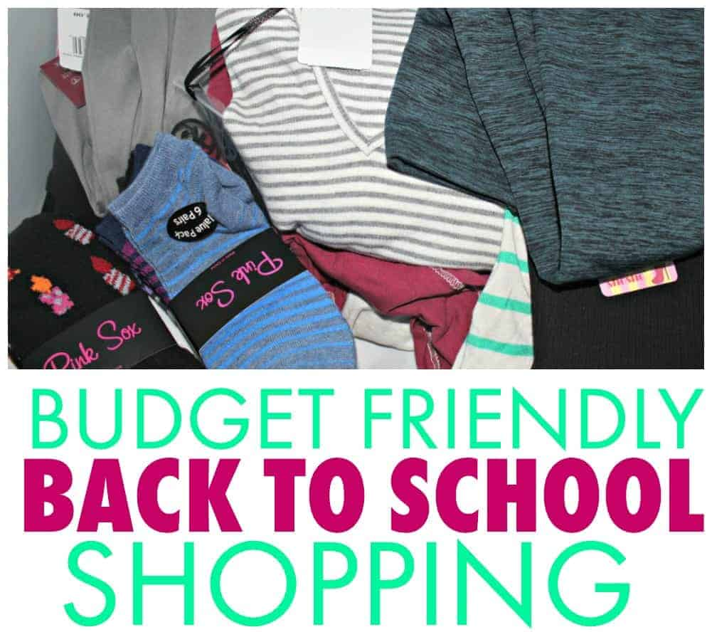 Budget Friendly Back to School Shopping Tips 1