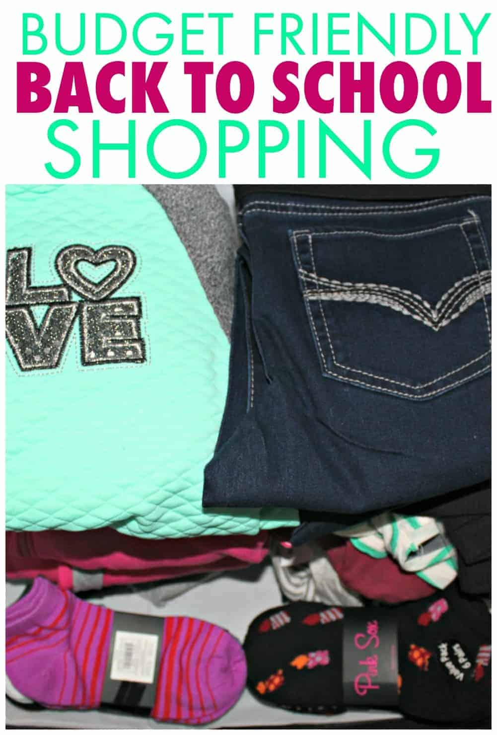 Make the most of your back to school clothing budget when you shop at Boscov's!