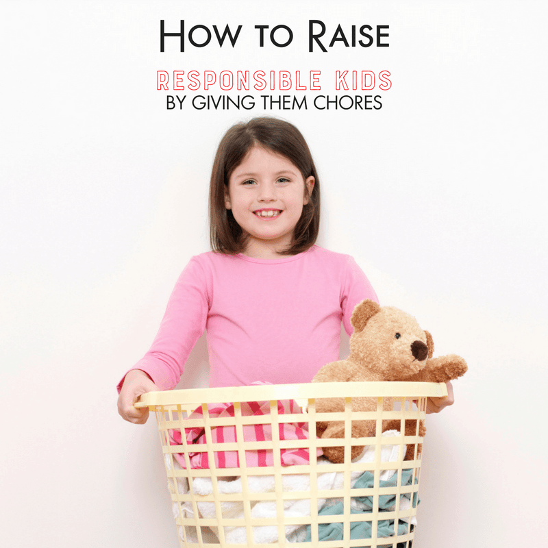 How to Raise Responsible Kids by Giving them Chores 1