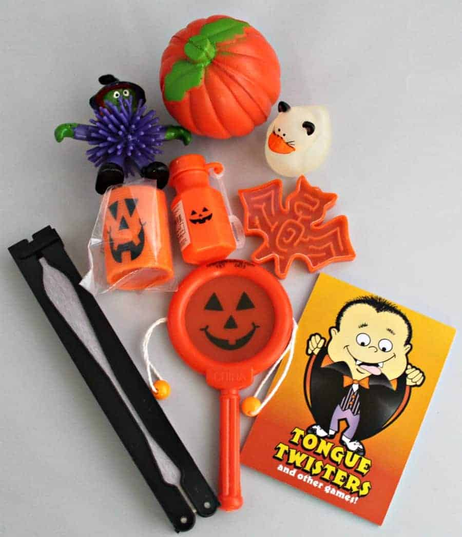 How to Assemble Candy Free Halloween Treat Bags 3