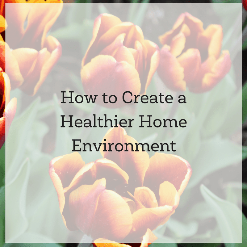 How to Create a Healthier Home Environment and a Healthier World 2