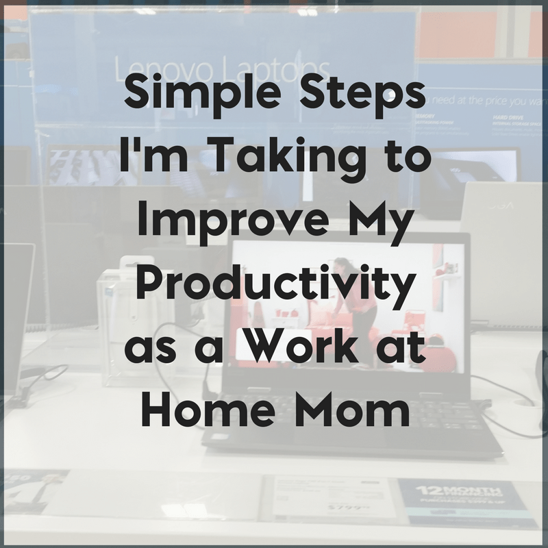Simple Steps I'm Taking to Improve My Blogging Productivity 2