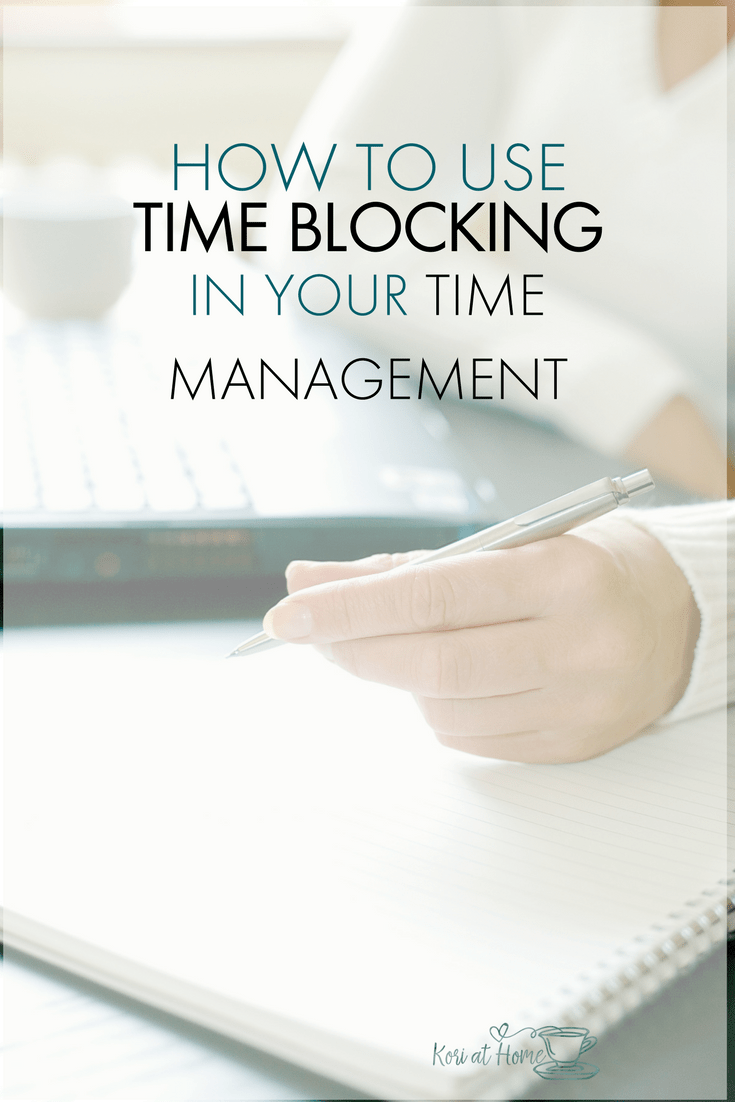 If your current time management strategy could use a little tweaking, why not consider using time blocks.