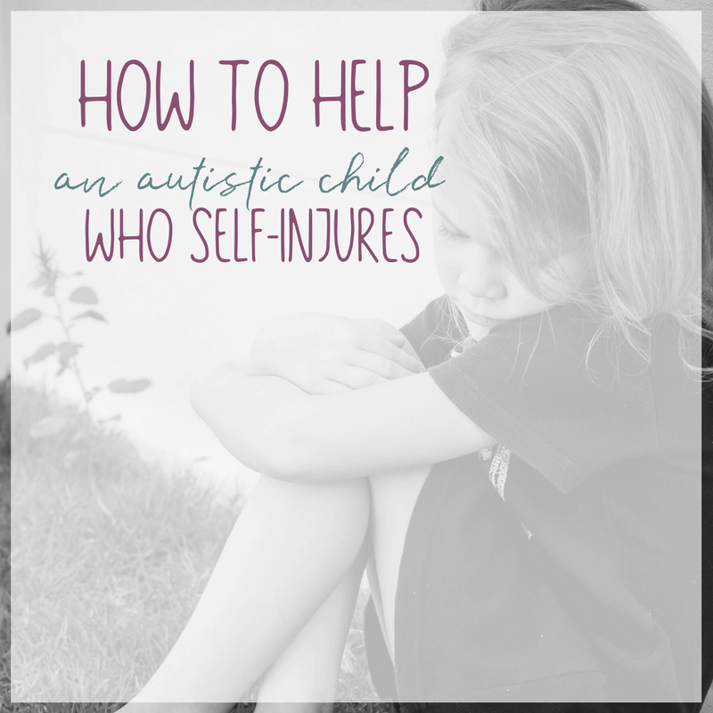 How to Help an Autistic Child Who Self Injures 2