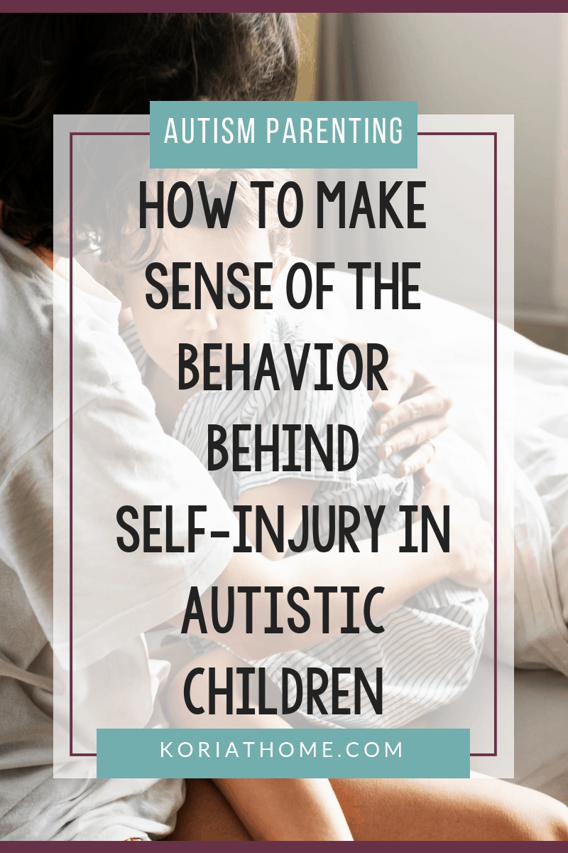 How to Help an Autistic Child Who Self Injures 5