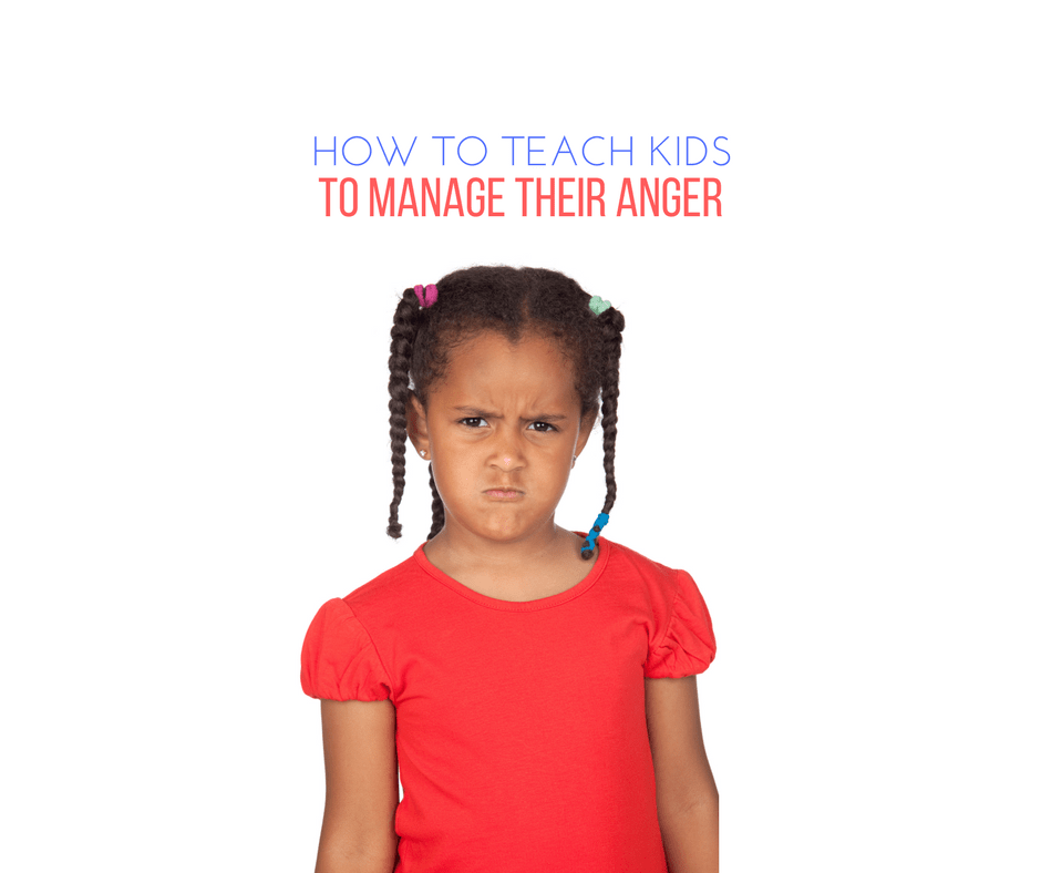 How to teach kids to manage their anger, advice for older children.