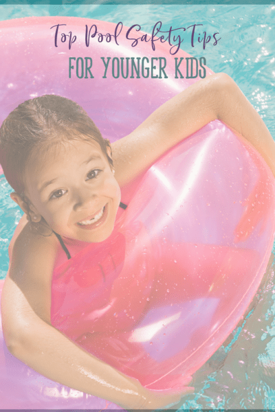 Pool safety tips for young children