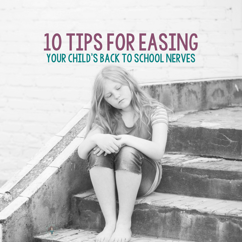 Easing Your Child's Back to School Nerves 1