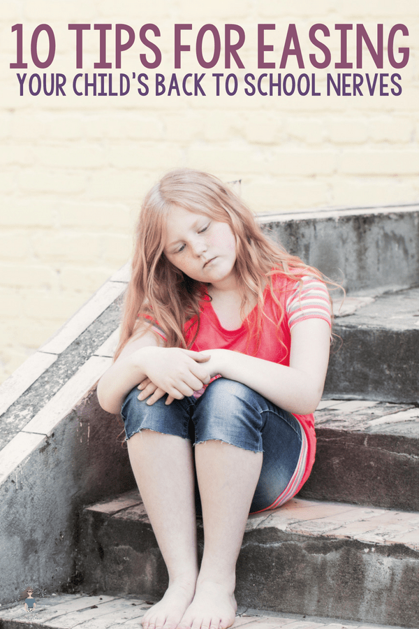 I was that child with separation anxiety when it came to going back to school! Here are a few tips for how you can help ease your child's back to school nerves.