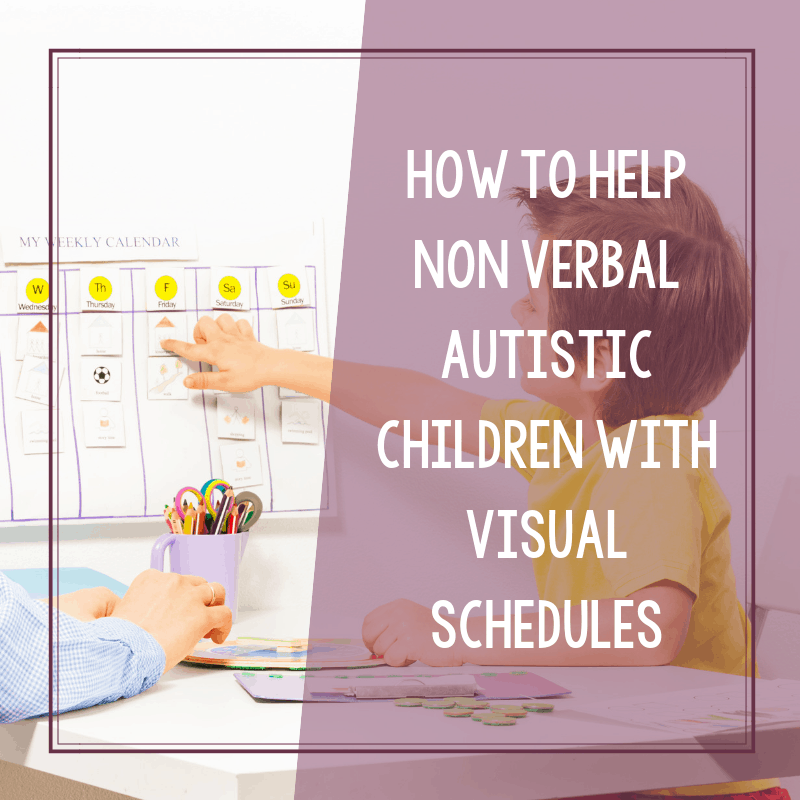 The Importance of Visual Schedules for Non Verbal Autistic Children 2