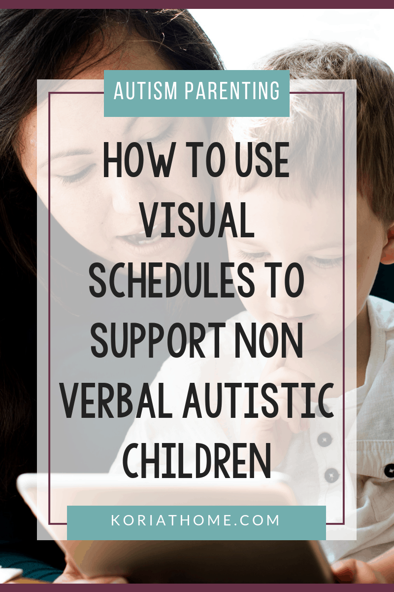 The Importance of Visual Schedules for Non Verbal Autistic Children 5