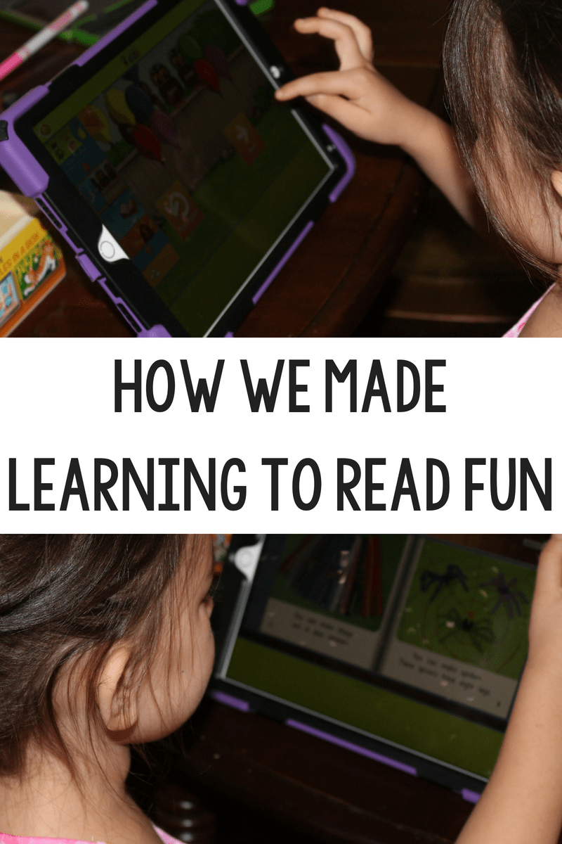 How We Made Learning to Read Fun and Engaging