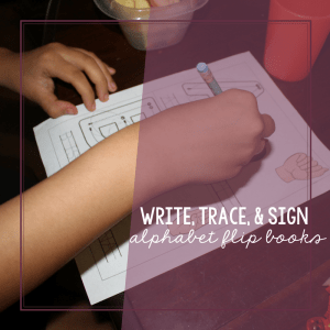 Write, Trace, and Sign Alphabet Flip Books 1