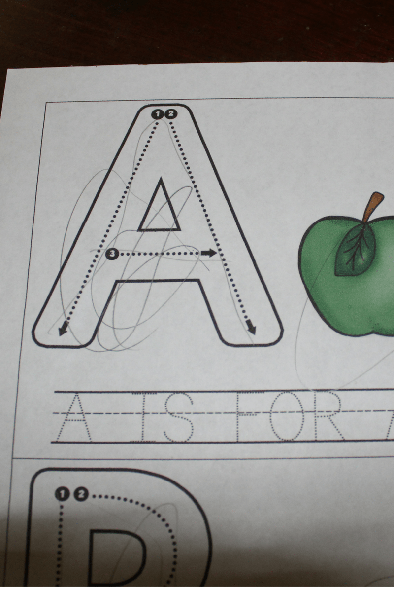 Write, Trace, and Sign Alphabet Flip Books 4