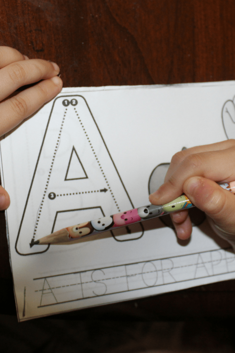 Write, Trace, and Sign Alphabet Flip Books 5