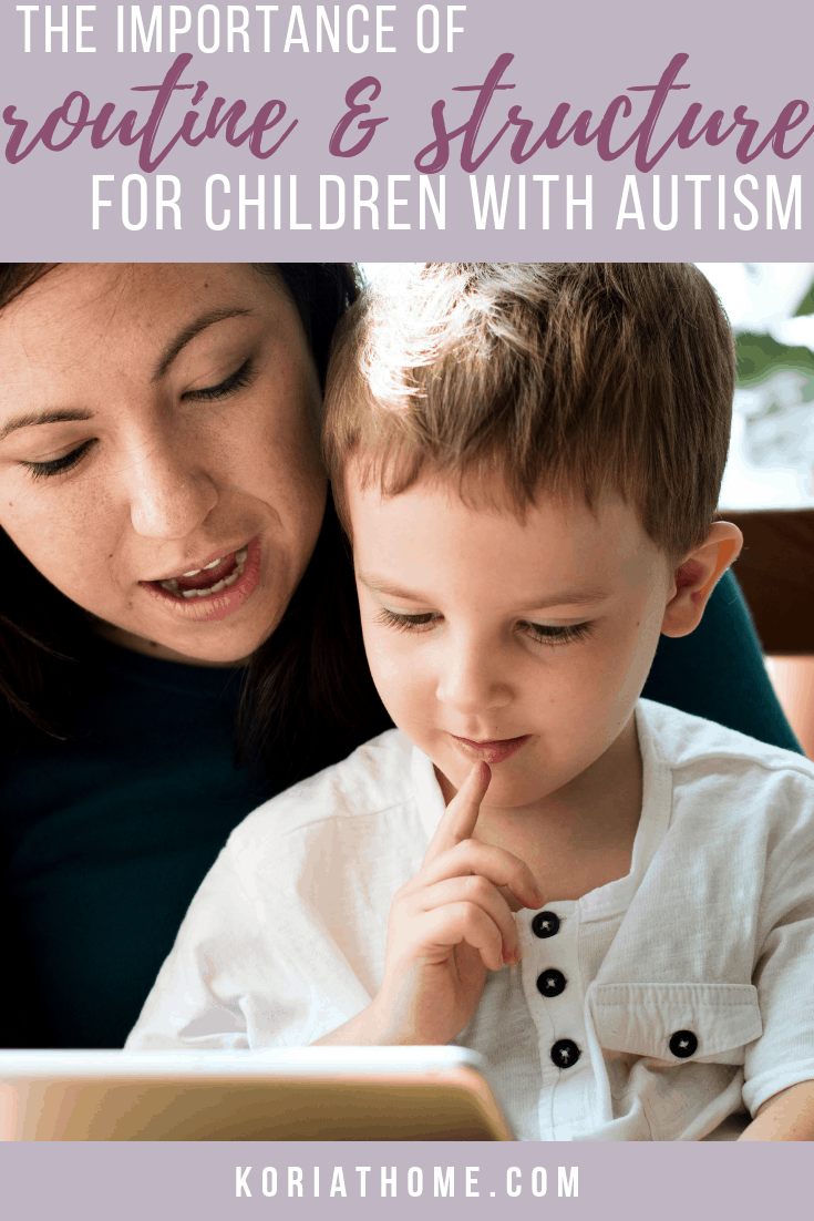 Why Routines and Schedules are Important for Autistic Children 1