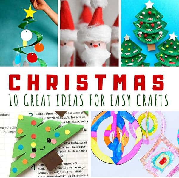 Great Ideas for Making Christmas Crafts Easy 1