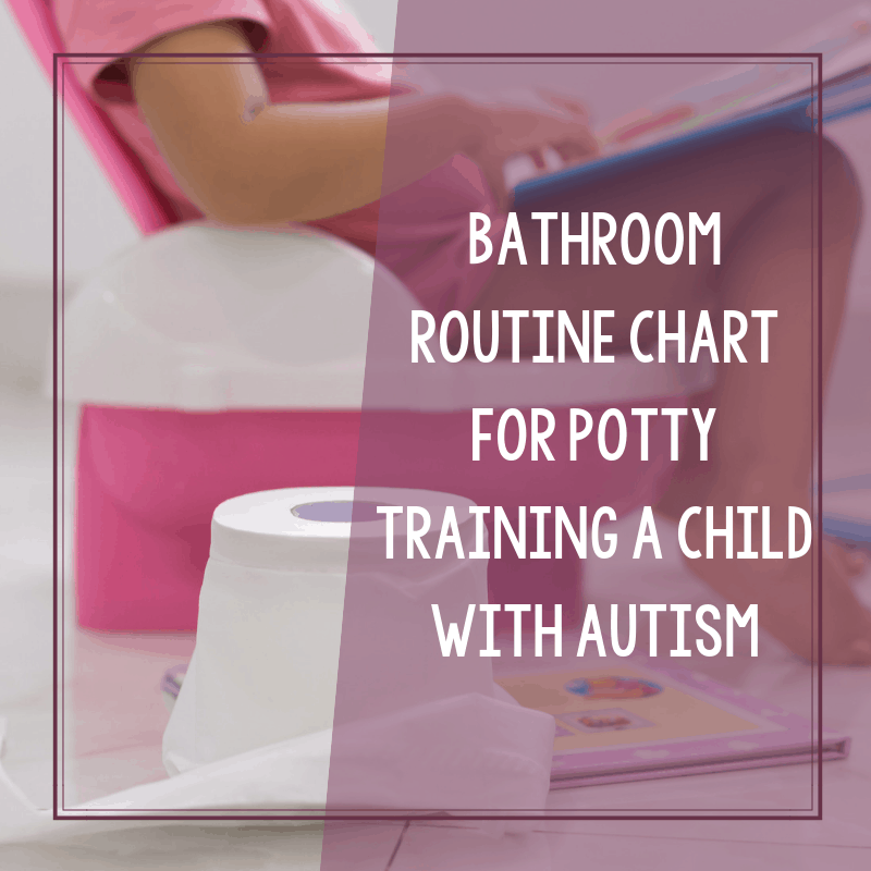 Printable Bathroom Routine Chart for Potty Training an Autistic Child 2
