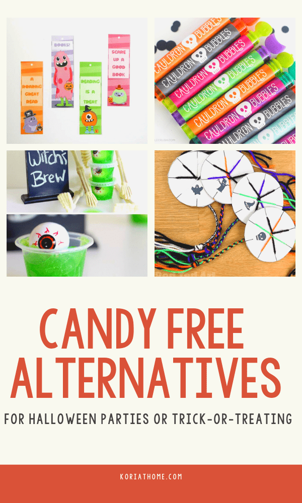 26 Candy Free Alternatives for Halloween Parties and Trick or Treating 1