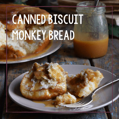 Canned Biscuit Monkey Bread Recipe