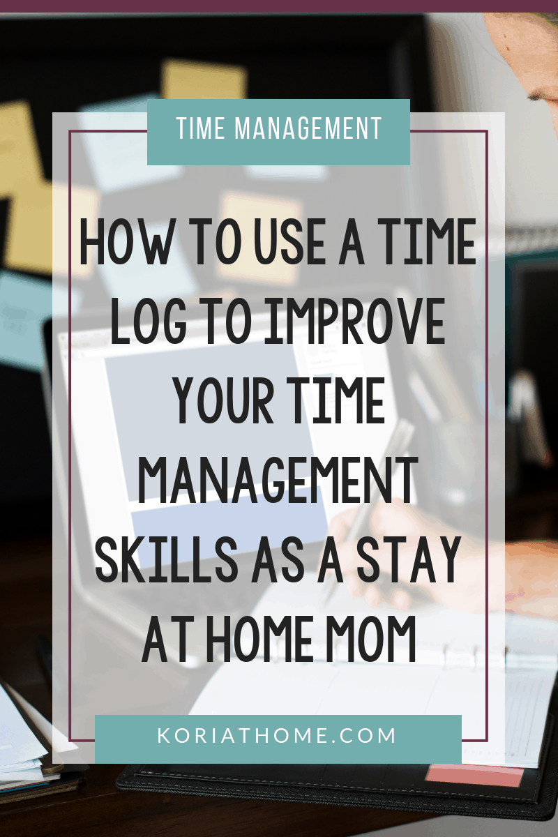 How to Use a Time Log to Help with Time Management 3