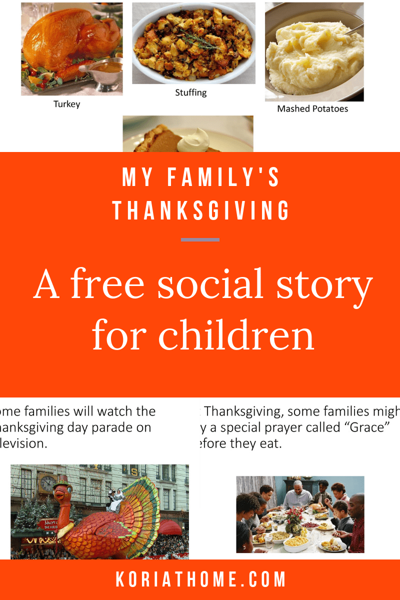 How to Help Your Autistic Child with the Thanksgiving Holiday 3
