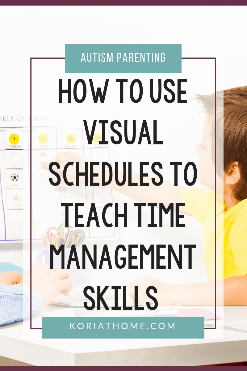 How Visual Schedules Can Assist Children with Autism with Time Management Skills 4