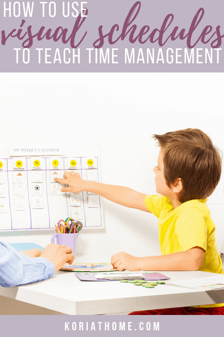 How Visual Schedules Can Assist Children with Autism with Time Management Skills 1