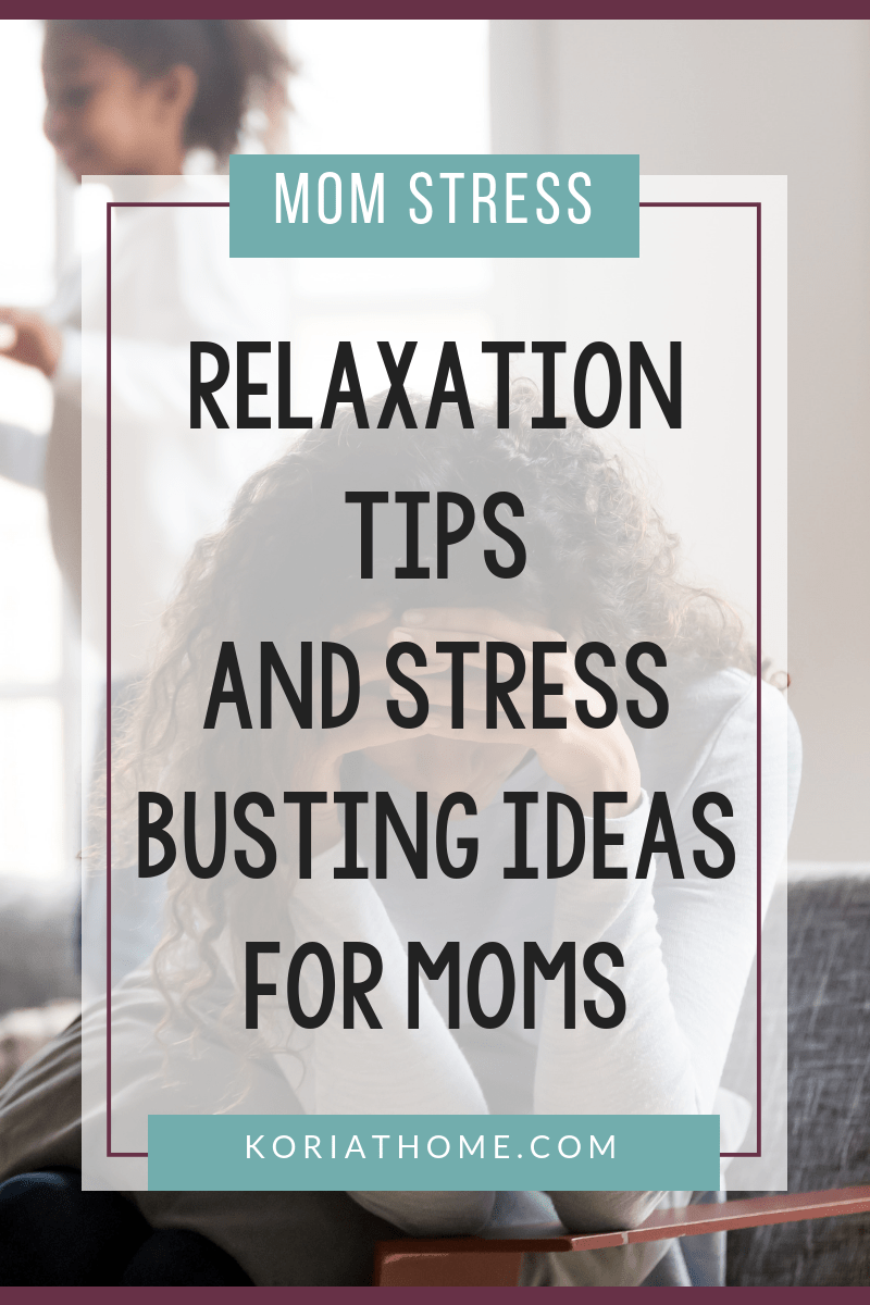 How to Reduce Your Stress as a Stay at Home Mom 2