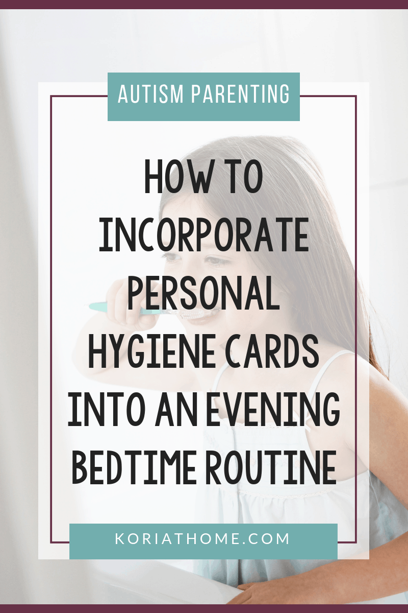 Personal Hygiene and Bedtime Routine Chart and Cards for Girls and Boys 2