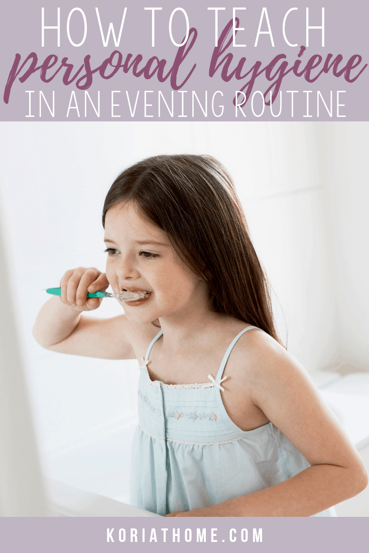 Personal Hygiene and Bedtime Routine Chart and Cards for Girls and Boys 1
