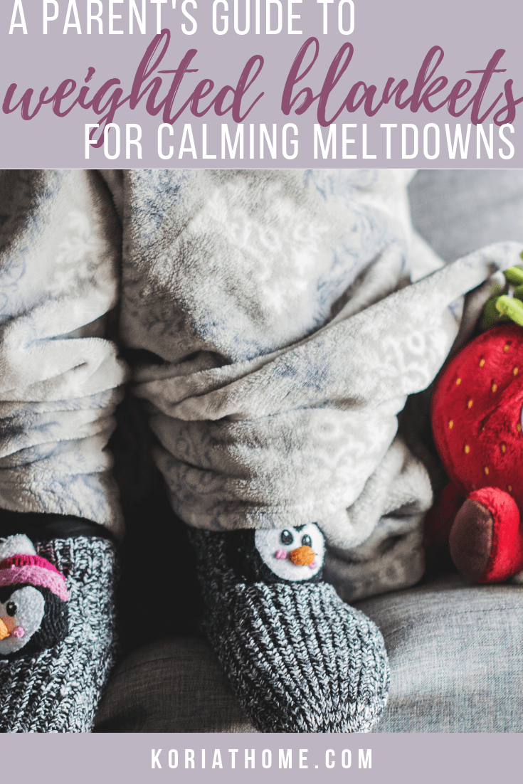 How to Use a Weighted Blanket For Calming an Autism Meltdown 1