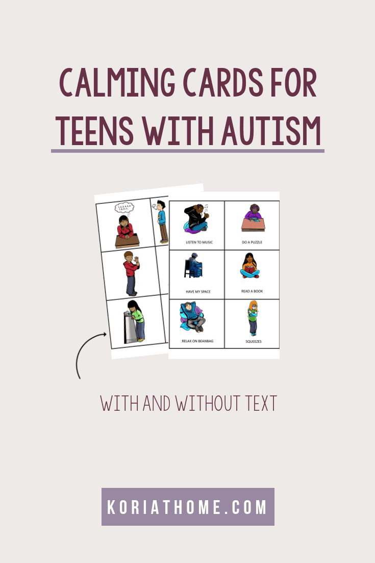 Autism Calming Strategies for Teenagers and Tweens 1