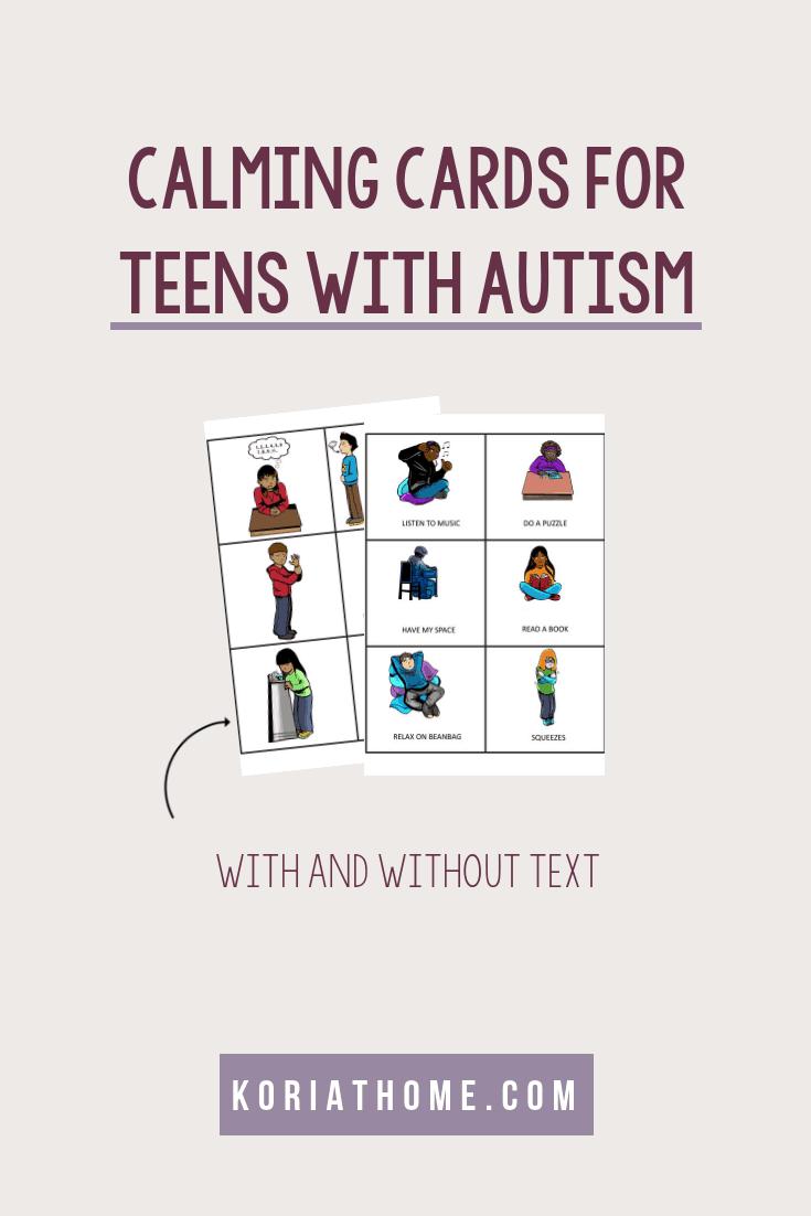 Autism Calming Strategies for Teenagers and Tweens